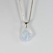 Кулон в серебре с кристаллом Сваровски АМА Львов
