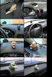 Арома-маскоты (автомобильные ароматизаторы) из метало-керамики