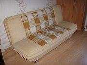 Диван-кровать,  бежевый,  б/у,  состояние отличное