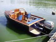 Морской алюминиевый катер