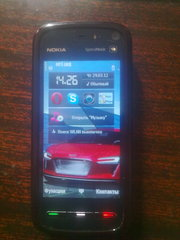 Nokia 5800 XpressMusic Red.