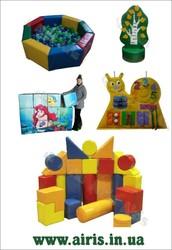 Мягкие игровые,  сенсорные комнаты для детей! Горки,  качалки,  напольные