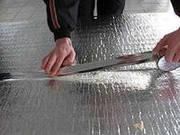 Теплоизоляционный материал Алюфом (пенофол) утеплитель изоляция