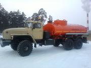 Топливозаправщик АТЗ-10 на шасси Урал
