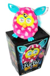 Furby Фёрби Руссифицированный Белый горошек оригинал интерактивный
