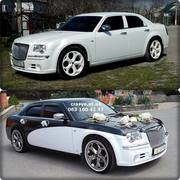 Аренда автомобиля на свадьбу Запорожье Прокат украшений для машины