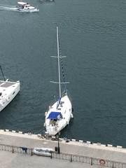 яхта парусно-моторная