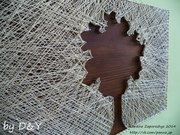 Картины из нитей и гвоздей (ручная работа) на заказ в Запорожье