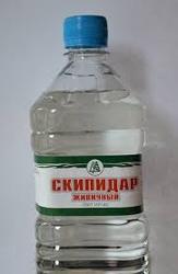 Скипидар  живичный,  очищенный  (терпеновое масло). Флаконы  по  400 мл