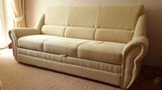 Комплект мягкой мебели из дивана и кресла