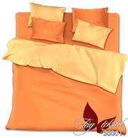 Однотонное постельное белье из поплина,  Комплект S6001