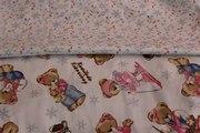 Детская постель в кроватку,  Сатин Winter Teddy