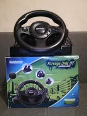 Руль игровой defender forsage drift gt