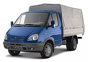 Грузоперевозки автомобилями ГАЗель 1, 5т и ГАЗ 3307 4т