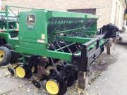 Сеялка. Сеялка зерновая механическая Джон Дир 750  4, 6 м.