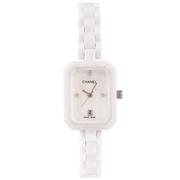 Женские изящные часы Chanel White