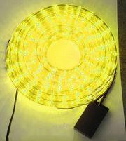 Led дюралайт — желтый,  10м