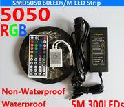 Светодиодная лента rgb 5050 многоцветная 60led 5 м.