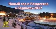 Отдых в Карпатах на Новый год и Рождество с KAVA