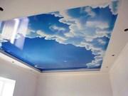 Натяжной потолок в Запорожье  Фотопечать Облако!