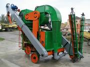 Зерноочестительная машина ОВС-25,  очиститель вороха самопередвижной