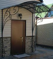 Металлические двери,  решётки на окна,  ворота,  заборы и др. под заказ.