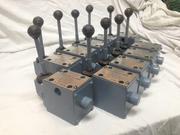 Гидрораспределитель ручной с фиксацией ВММ-10,  1РММ-10,  4WMM10,  Р103АВ