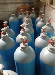 Купить новый баллон кислородный 40 литров. Pn 200 Бар. ГОСТ 949-73