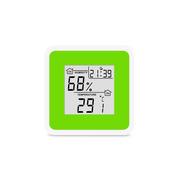 Термо-гигрометр цифровой с часами