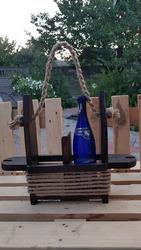 Подарок для настоящих мужчин. Ящик из дерева для винных бутылок в ориг