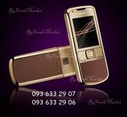 Nokia 8800 Gold Arte (коричневая кожа)