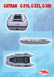 Надувные гребные и моторные лодки Catran