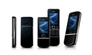 Nokia 8800 Sapphire Arte Black ... .